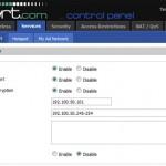 DD-WRT VPN Screen
